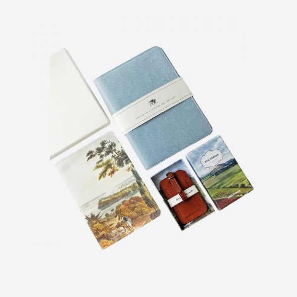 Folios & luggage tags for couple gift set